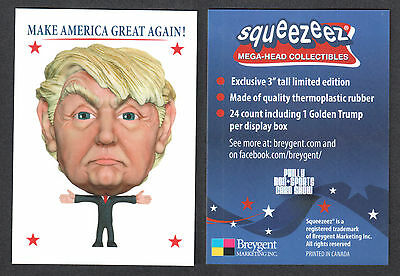 Cheap Promo Card: Donald Trump Squeezeez Philly Show One Ship Fee Per Order