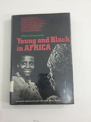 Young and Black in Africa - Okion Ojigbo  (1971, Hardcover, Dust Jacket)