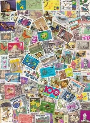 Malaya/ Malaysia Collection  from Stamp Hoard  112 Mint/Used Variety **SALE**