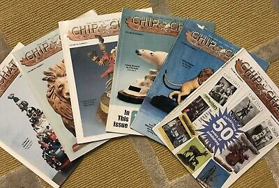 'CHIP CHATS' COMPLETE YEAR Volume 50, 1-6 WOOD CARVING MAGAZINES (2003)