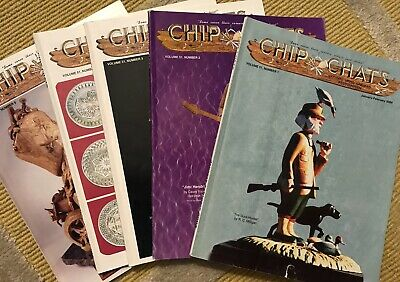 'CHIP CHATS' INCOMPLETE YEAR Volume 51, 1-5 WOOD CARVING MAGAZINES (2004)