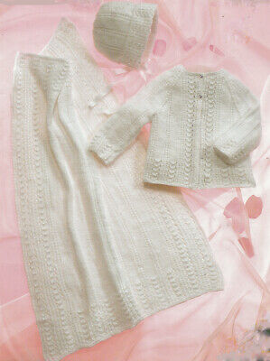 Teddy Knitting Pattern: Baby Cardigans 4ply 7138 14-22/""