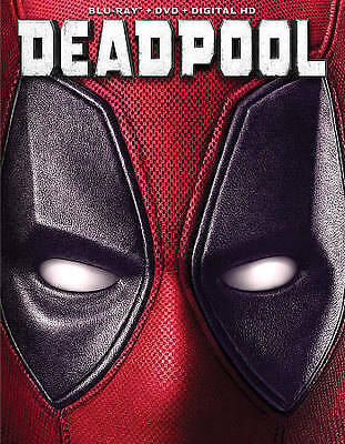 Deadpool (Blu-ray/DVD, 2016, no digital code) (Ryan Reynolds, X-Men, Marvel)