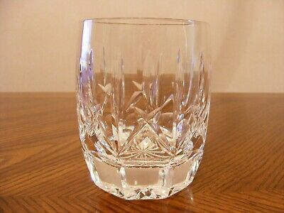 """WATERFORD Crystal WESTHAMPTON 12 oz Hand Blown Double Old Fashioned Glass 4 1/8"""""""