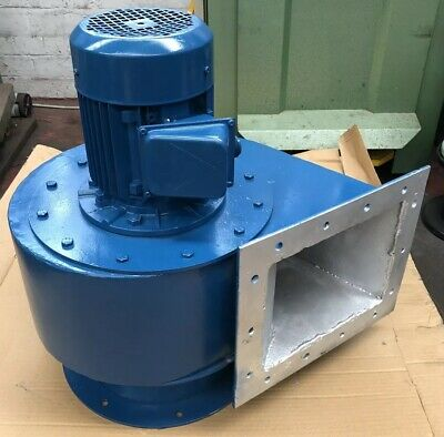 3-PHASE Fan Centrifugal Blower Smoke Extractor 0.75kW 4-Pole Spray Booth Snail