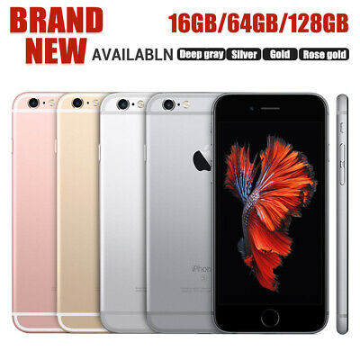 Factory Unlocked APPLE iPhone 6s Plus + 16GB 64GB 128G in Sealed Box  US Version