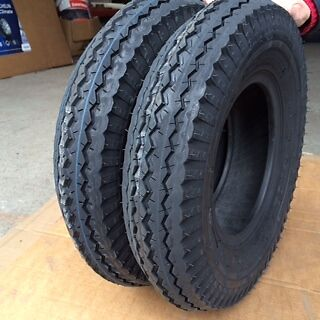 2x 4.80/4.00-8 4Ply 62M Tubeless New High Speed Trailer Wheelbarrow tyres x2