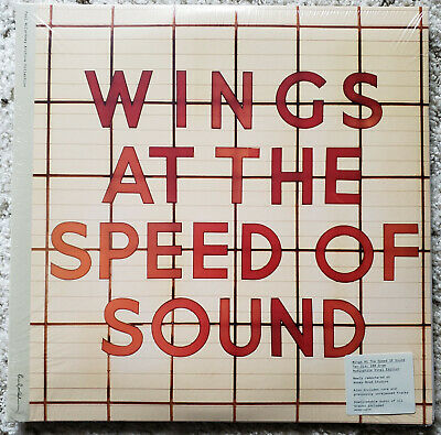 Paul Mccartney * Wings At The Speed Of Sound * Double Vinyl Lp * New & Sealed