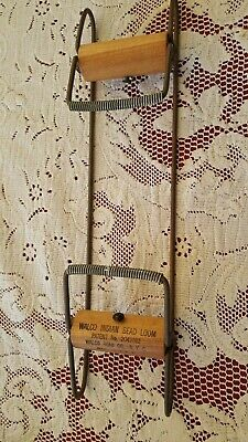 Vintage Walco Wood And Metal  Bead Loom Good Used Condition Free S&H!