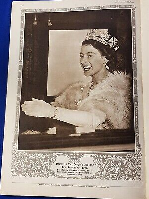 1953 The Illustrated London News - Coronation Number Queen Elizabeth II. VGC