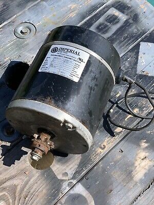 IMPERIAL ELECTRIC PERMANENT Magnet Motor P56SN016 - $60 00 | PicClick
