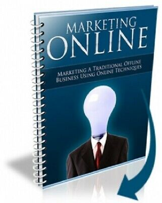 Marketing Online PDF eBook with Master Resell Rights MRR