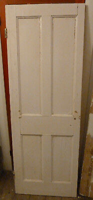 Reclaimed Victorian 4 Panel Internal Door - 670mm x 1890mm x 34mm