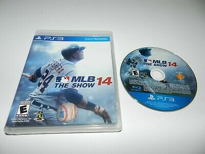 MLB The Show 14 Sony PlayStation 3 PS3 Game w/ Case Tested