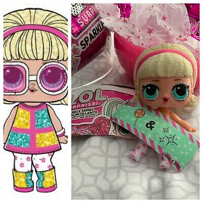 LOL Surprise Girl Doll NEW Sparkle Series Glitter GO GO GURL w/Ball