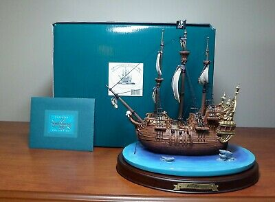 "WDCC Walt Disney Enchanted Places Peter Pan - Captain Hook's Ship ""Jolly Roger"""