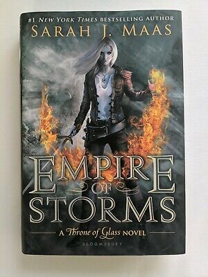 Throne of Glass: Empire of Storms 5 by Sarah J. Maas Signed Autographed Copy