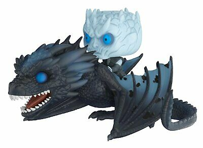 Funko Pop! Rides: Game of Thrones - Night King On Dragon Collectible Figure