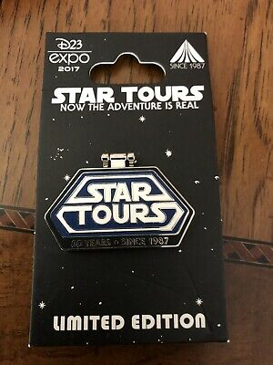 D23 Star Tours 30th Anniversary Hinged LE Disney Pin 123192