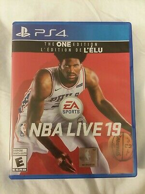 NBA Live 19:2019 The One Edition (Sony PlayStation 4 PS4) basketball video game