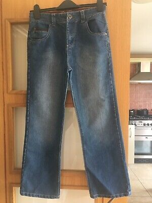 NEXT Boys Pale Jeans Age 12 Years Straight Leg Classic Fit Excellent Condition