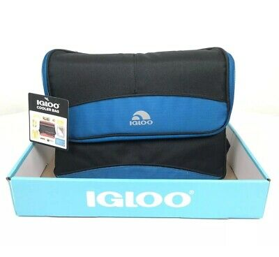 Igloo Collapse & Cool Cooler Bag 12 Cans Lunch Box Keep Food Cold Insulated NEW