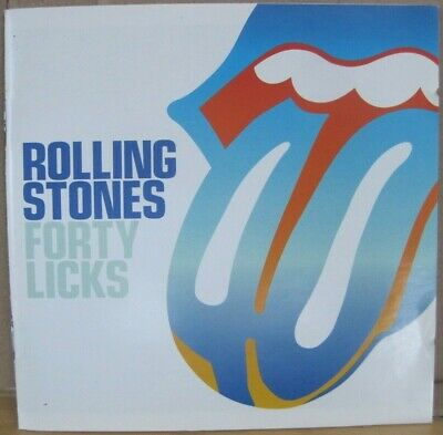 THE ROLLING STONES Forty Licks 2 CDs 2002 Virgin freeUKpost