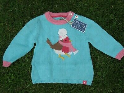 Joules Baby Robyn Jumper, Age 12-18m, BNWT