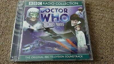 Doctor Who The Space Pirates BBC Audio Soundtrack 2xCD
