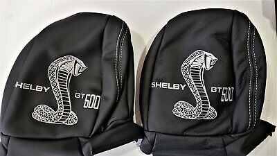 Ford Mustang Shelby gt500 Headrest skin Trims 2015 to 2019