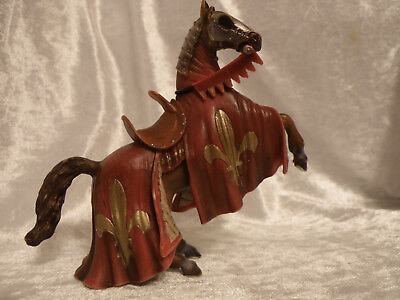 Schleich Medieval World Of History Knight's Warhorse Rearing Nice Cond See Pics