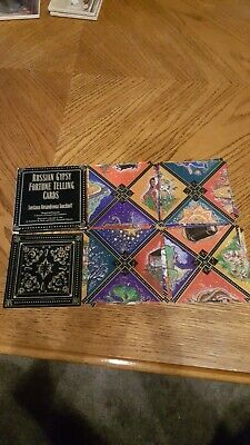 Russian Gypsy Fortune Telling Cards No Instructions 1991