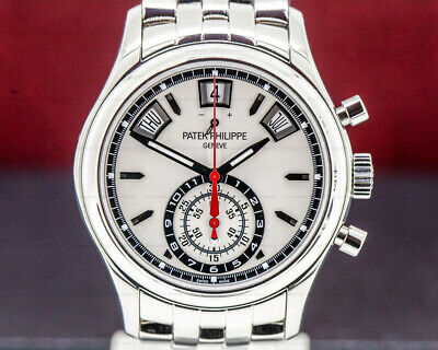 Patek Philippe 5960/1A-001 Annual Calendar Chronograph White Dial BOX + PAPERS