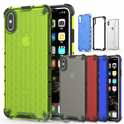 Shockproof Rubber Hybrid Bumper Case for iPhone X XS Max 6s 7 8 Plus Armor Cover