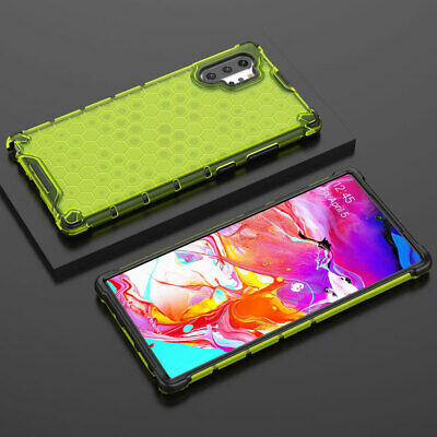 Slim Shockproof Rubber Hybrid Armor Case Cover for Samsung Galaxy S10 Note10 Pro