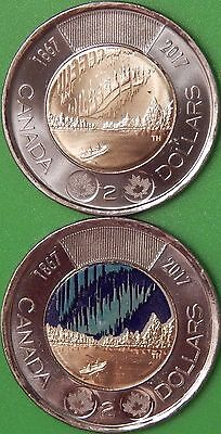 2017 Canada Regular and Paint Dance Toonies Graded as Brilliant Uncirculated