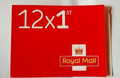 12 x First Class Royal Mail Stamps, Standard Letter Size