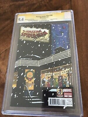 CGC SS 9.4 Amazing Spiderman 700 Signed Stan Lee 50th Anniversary Variant 'death