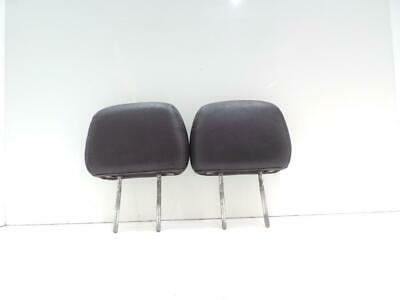 Jeep Grand Cherokee 1993 - 1999 Pair Left & Right Rear Black Leather Headrest
