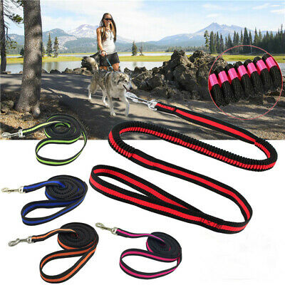 120cm Elastic Bungee Dog Leash Walking Leashes Retractable Training Lead Rope