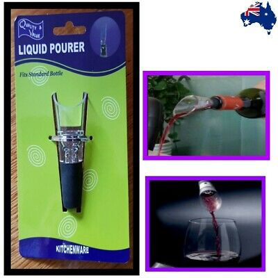 High Quality Wine Aerator Pour Spout Bottle Stopper Decanter Pourer Aerating Bar