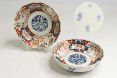 Japanese old imari ware porcelain bowl Antique meiji