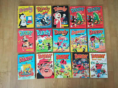 15 Dandy Annuals 1971 To 1999