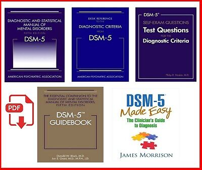 DSM-5 Diagnostic and Statistical Manual Mental Disorders 5th [NOT PHYSICAL COPY]