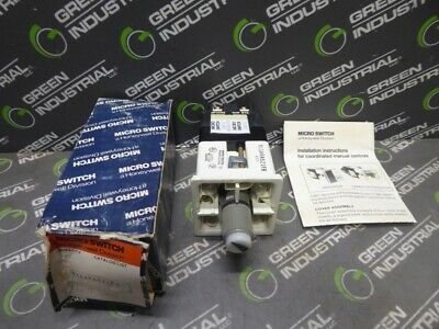 NEW Honeywell 911ARA521FB Microswitch with Indicator Lights