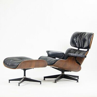 Incredible Rare 1960S Vintage Herman Miller Eames Lounge Chair Caraccident5 Cool Chair Designs And Ideas Caraccident5Info