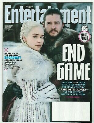 Entertainment Weekly - November 9, 2018 #1536 - End Game - Game of Thrones