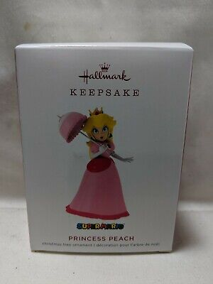 2019 Hallmark Keepsake Ornament Princess Peach Super Mario Brothers
