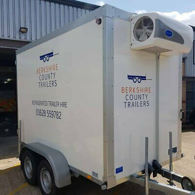 Refrigerated Trailer Hire 2700kg Rental Only Berkshire, London, Hampshire, Bucks