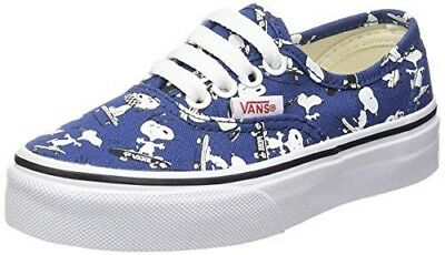 Details about Vans x PEANUTS Snoopy Skating Shoes Authentic Blue SKATEBOARD Size 2.5